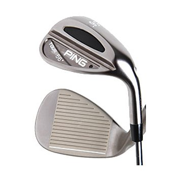 Ping TOUR BLACK CHROME NICKEL Wedge Preowned Golf Club