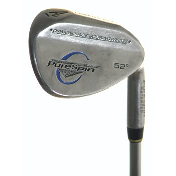 PureSpin TUNGSTEN SOLE Wedge Preowned Golf Club