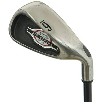 Callaway BIG BERTHA 2002 Iron Set Preowned Golf Club