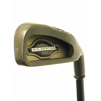 Callaway BIG BERTHA GOLD Iron Set Preowned Golf Club