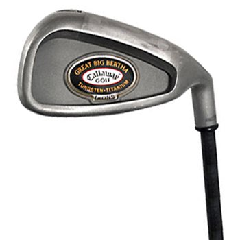 Callaway GREAT BIG BERTHA TUNGSTEN TI Iron Set Preowned Golf Club