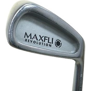 MaxFli Dunlop REVOLUTION BLACK Iron Set Preowned Golf Club