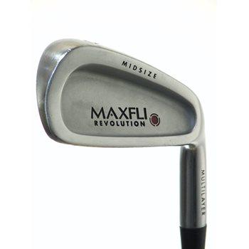 MaxFli Dunlop REVOLUTION RED Iron Set Preowned Golf Club