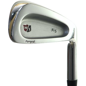 Wilson STAFF Fi5 FORGED Iron Set Preowned Golf Club