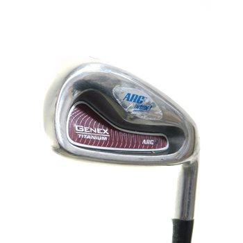 Nickent Genex Titanium Iron Set Preowned Golf Club