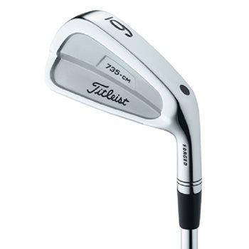 Titleist 735.CM Stainless Iron Set Preowned Golf Club