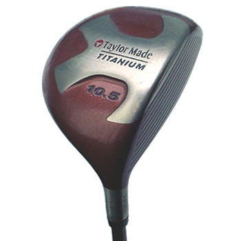TaylorMade TITANIUM BUBBLE Driver Preowned Golf Club