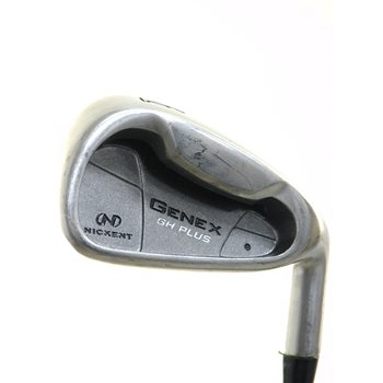 Nickent Genex GH Plus Iron Set Preowned Golf Club