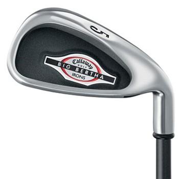 Callaway BIG BERTHA 2002 Iron Set Preowned Golf Club