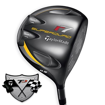 TaylorMade r7 SuperQuad TP Driver Preowned Golf Club