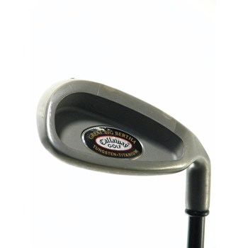 Callaway GREAT BIG BERTHA TUNGSTEN TI Wedge Preowned Golf Club