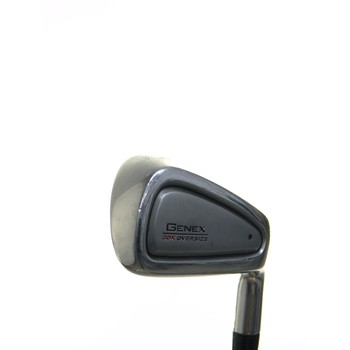 Nickent GENEX 3DX OVERSIZE Iron Set Preowned Golf Club