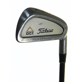 Titleist DCI Gold Oversize + Iron Individual Preowned Golf Club