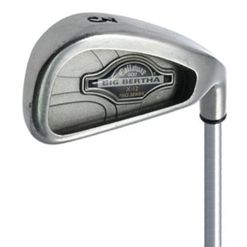 Callaway BIG BERTHA X-12 PRO SERIES Iron Individual Preowned Golf Club
