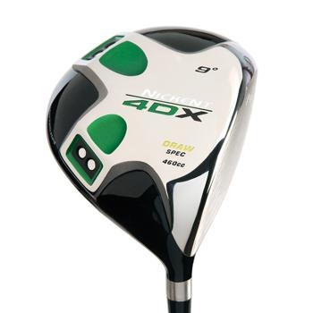 Nickent 4DX Draw Driver Preowned Golf Club