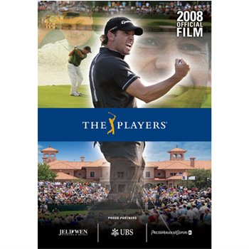 PGA TOUR Entertainment 2008 PLAYERS Official Film DVDs