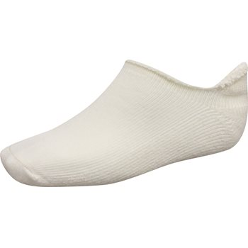 FootJoy ComfortSof Roll-Top White Socks No Show Apparel