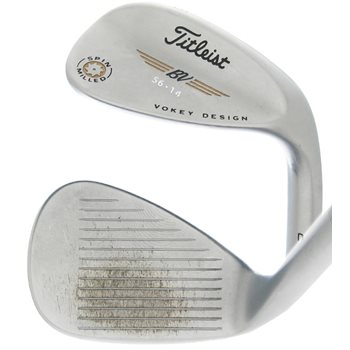 Titleist Vokey Spin Milled Chrome C-C Wedge Preowned Clubs