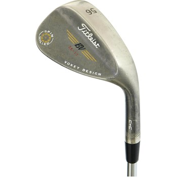 Titleist Vokey Spin Milled Black Nickel C-C Wedge Preowned Golf Club