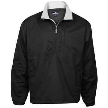 Weather Company Microfiber Waterproof 1/2 Zip Rainwear Rain Jacket Apparel
