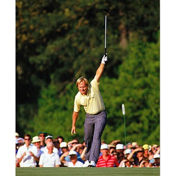 Golf Links To The Past Jack Nicklaus:  1986 Masters Photo Media