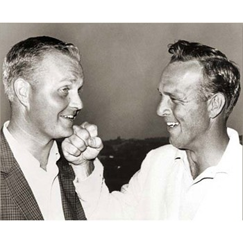 Golf Links To The Past Nicklaus & Palmer:  1962 U.S. Open Photo