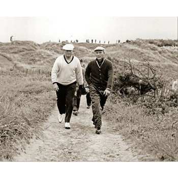 Golf Links To The Past Nicklaus & Palmer:  Royal Birkdale Photo Media