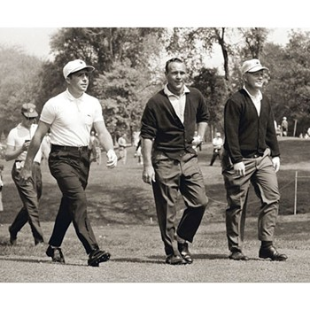 Golf Links To The Past Nicklaus, Palmer, & Player Photo Media