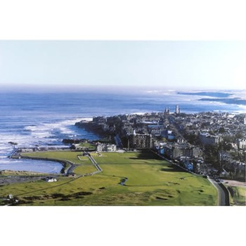 Golf Links To The Past St. Andrews & The Old Course-Aerial View Photo