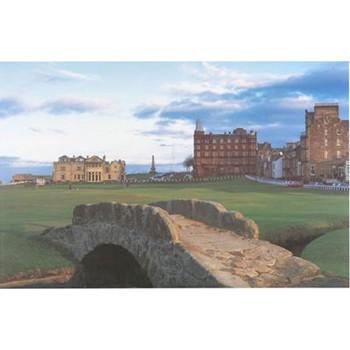 Golf Links To The Past St. Andrews Swilken Bridge Photo Media