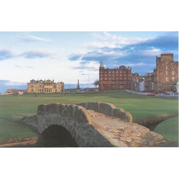 Golf Links To The Past St. Andrews Swilken Bridge Photo