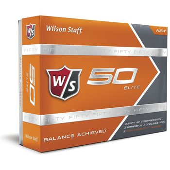 Wilson Fifty Elite Orange Golf Ball Balls