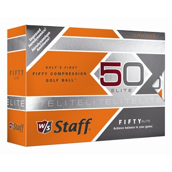 Wilson Fifty Elite Orange Golf Ball Balls