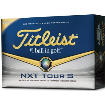 Titleist Prior Generation NXT Tour S Golf Ball Balls