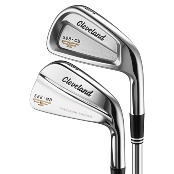 Cleveland 588 MB/CB Combo Iron Set Preowned Golf Club