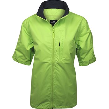 Weather Company Microfiber Short Sleeved Rainwear Rain Jacket Apparel