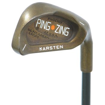 Ping Zing Beryllium Copper Iron Individual Preowned Golf Club