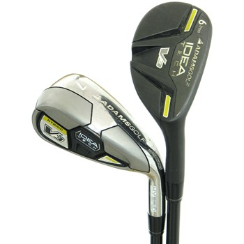 Adams Idea Tech V3-R Hybrid Iron Set Preowned Golf Club