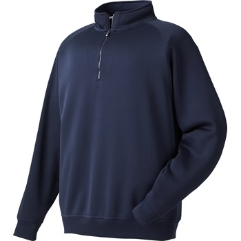 FootJoy Flat Back Rib Half-Zip Outerwear Pullover Apparel