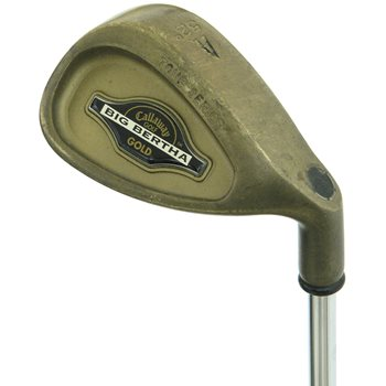 Callaway Big Bertha Tour Series Gold Wedge Preowned Golf Club