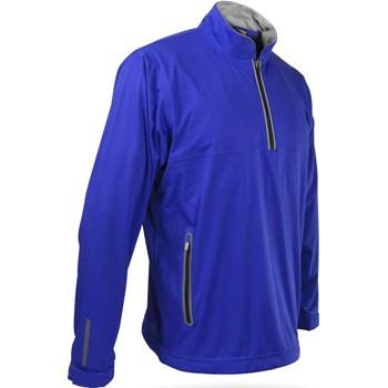 Sun Mountain RainFlex Long-Sleeve Half-Zip Outerwear Pullover Apparel