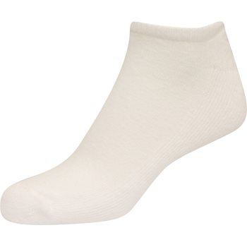 FootJoy ComfortSof Low Cut White 3-Pack Socks No Show Apparel
