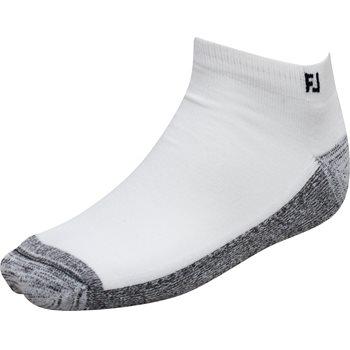 FootJoy ProDry Sport White 2-Pack Socks Ankle Apparel