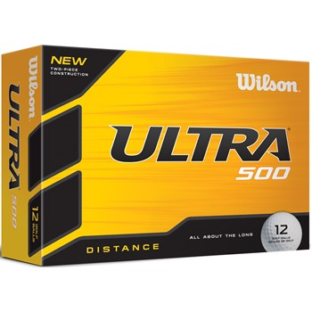 Wilson Ultra 500 Golf Ball Balls