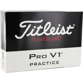 Titleist Pro V1 Series 2013 Practice Golf Ball Balls