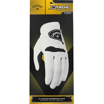 Callaway Xtreme 365 2 Pack Golf Glove Gloves