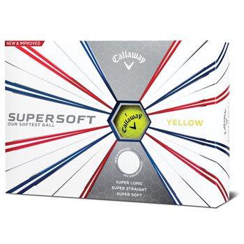 Callaway Supersoft Yellow Golf Ball Balls