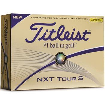 Titleist NXT Tour S Yellow Golf Ball Balls