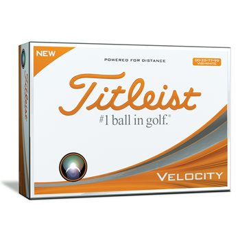 Titleist Velocity Double Digit Numbers Golf Ball Balls