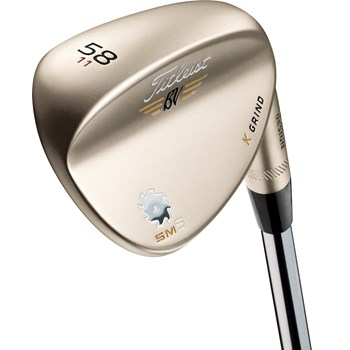 Titleist Vokey SM5 Gold Nickel K Grind Wedge Preowned Clubs